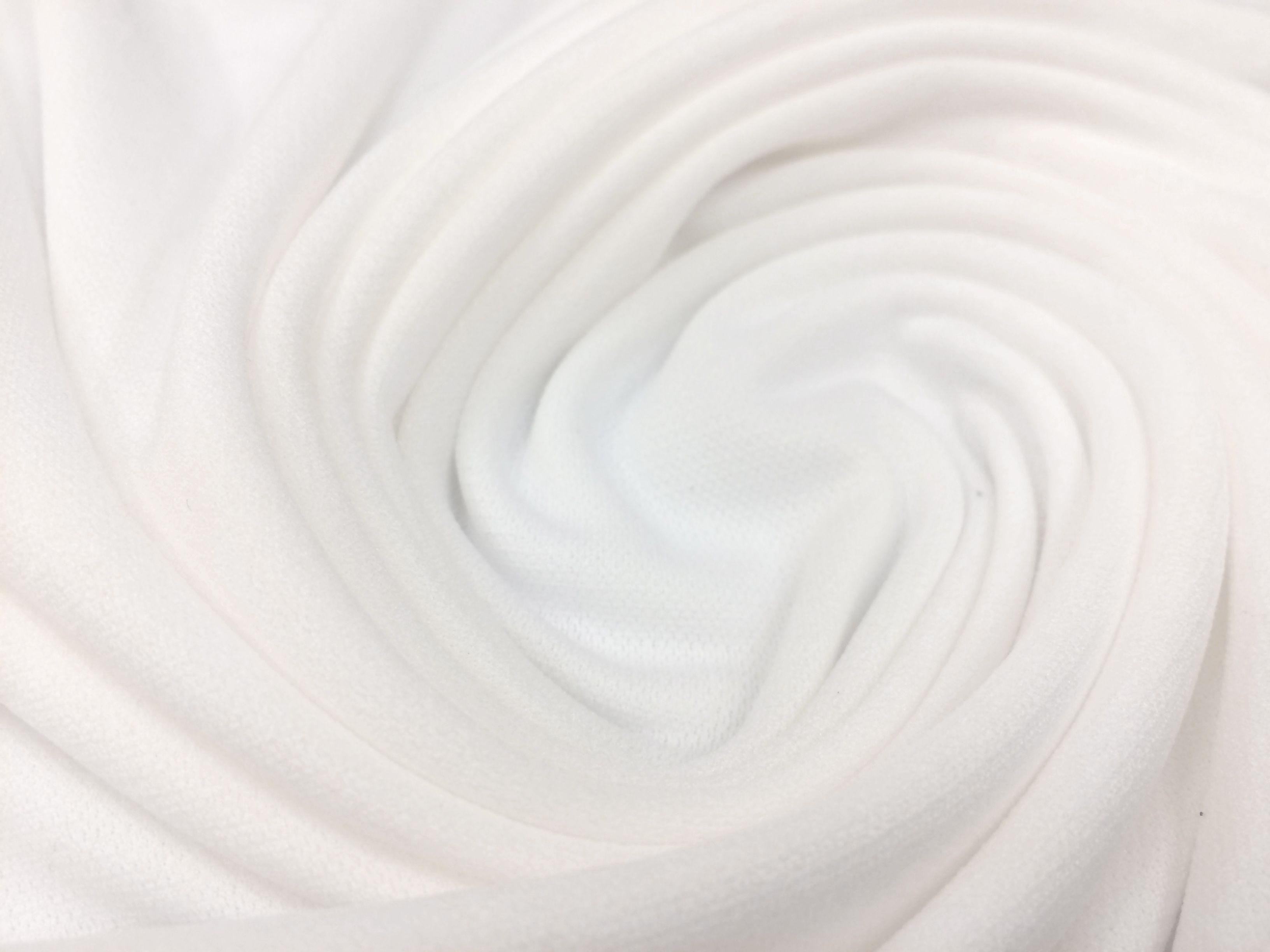 Forro Unicolor Blanco Helenca Linning 4 Way Stretch Por Metro