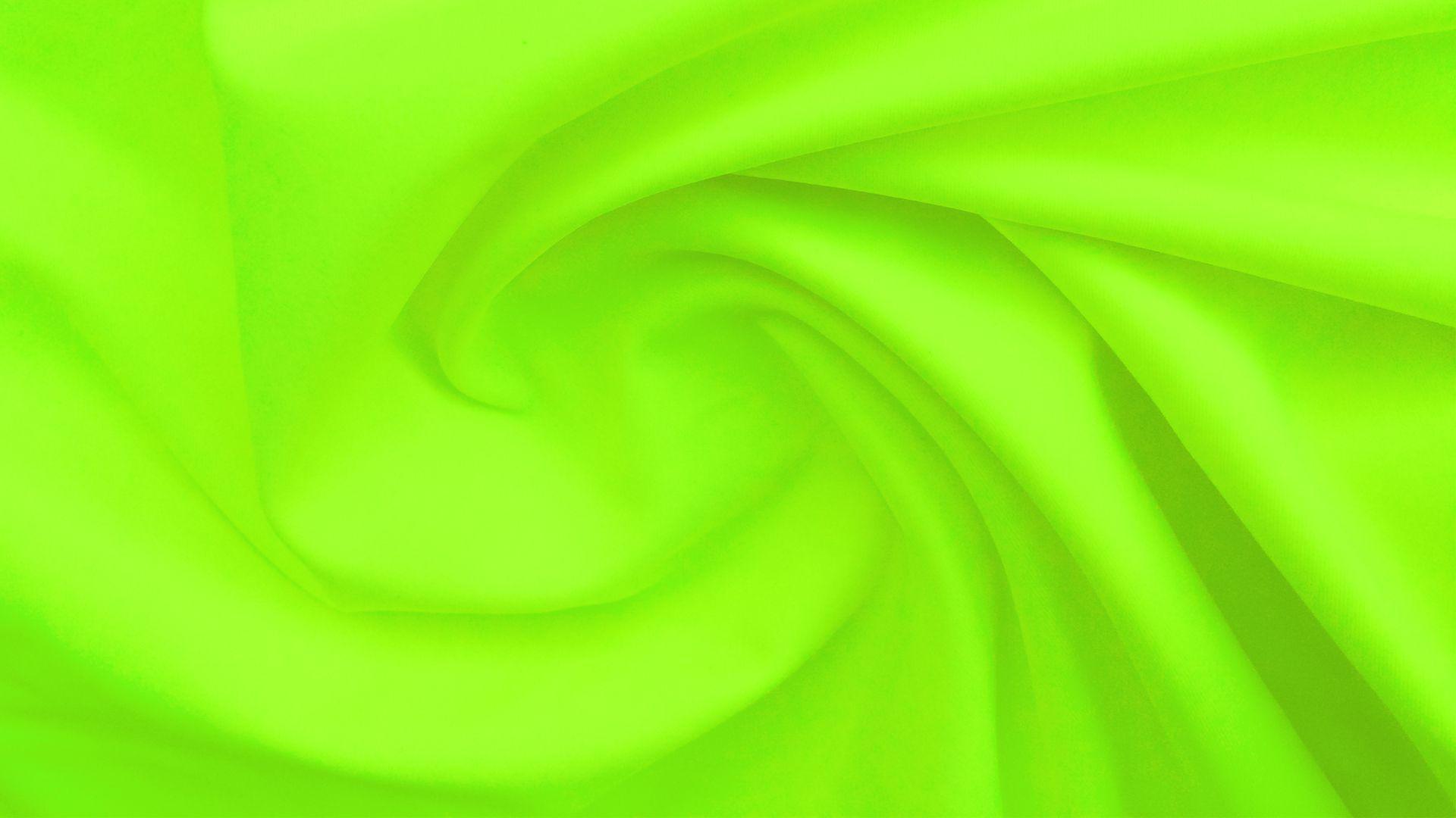 Tela Lycra Unicolor Waterproof Verde Neón Nylon Lycra